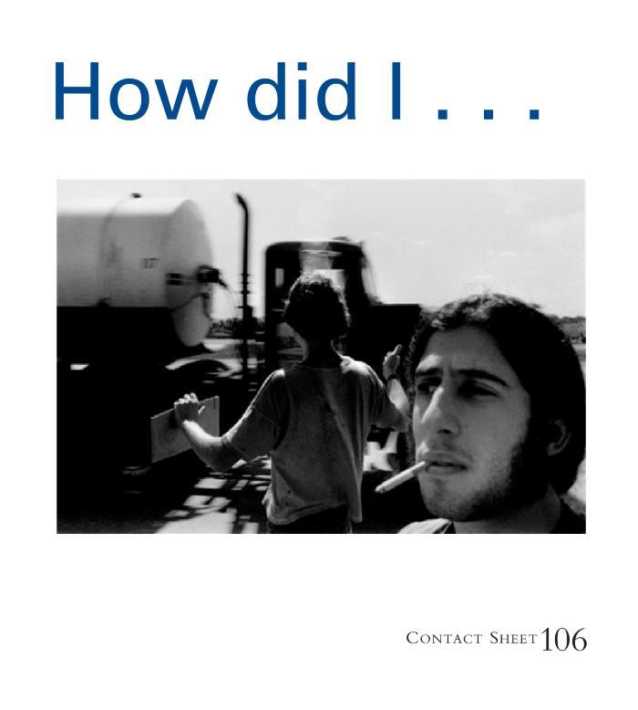 Contact Sheet 106