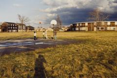 Basketball on Lone Canal, Niagara Falls, N.Y. 1982