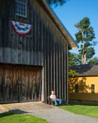 The barn at the Gerrit Smith estate, Oswego